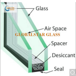 5+12A+5mm Clear Insulated Glass / Safety Glass