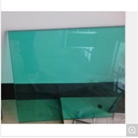 6.38mm F Green Laminated Glass