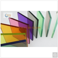 4+4, 5+5, 6+6mm Clear Laminated Glass for Pool Fence Panel