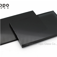 4mm-10mm Colored Black Construction Float Glass (C-B)