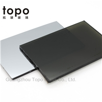 4mm-10mm Coated / Reflective Black Glass with Cheap Price (R-B)