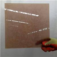 guangzhou brown acid etched glass
