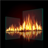 Tempered Fireproof Glass