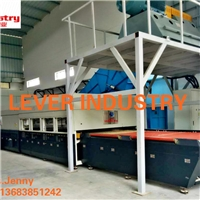 LV-TFB1830-12L flat and bent glass tempering furnace