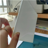 Porelain White Laminated Glasss