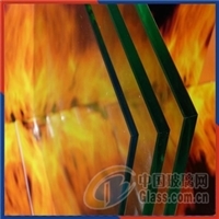 Architectural fire resistance glass