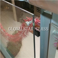 1010.4mm clear laminated tempered glass
