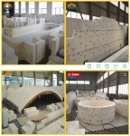 Fused cast refractory AZS bricks for glass blast furnace refractory brick