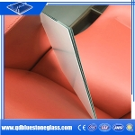 8.76mm Building laminated  thick laminated frosted glass