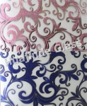 4mm high quality decorative acid designs glass  , frosted door/window/ceiling /wall decorative factory
