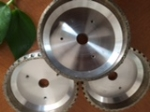 Diamond wheel for bevelling machine