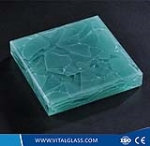 Green Jade Glass for Building Wall