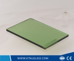 5mm Dark Green Reflective Glass for Toughened Glass