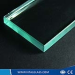 10mm clear float glass