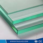 2-19mm clear float glass