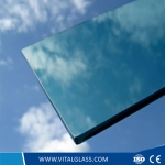 Light blue float glass
