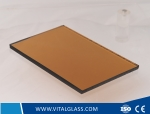 4-6mm Bronze reflective glass