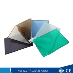 10.38mm Colored Laminated glass