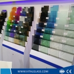 12.38mm Colored Laminated glass