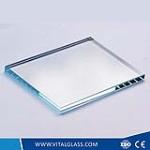 Super white float glass
