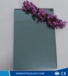 4mm-6mm Ocean Blue Reflective glass