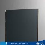 3-12mm Dark Grey Float Glass