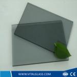 4-12mm Euro Grey Float Glass