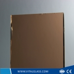 4-6mm Dark Bronze Float Glass