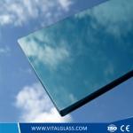 4-10mm Light blue float glass