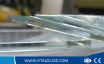 12mm Ultra clear float glass