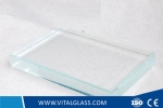 6mm Ultra clear float glass