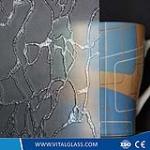 Dleta Patterned Glass