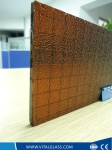 Colour Wire Pattern Glass