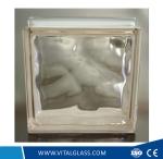 Clear/Green/Blue End Block/Brick Glass