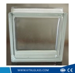 Clear/Blue/Green Double End Angle Glass Block/Brick