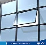 Safety Blue Grey Low-E Glass for Building Glass (L-E)
