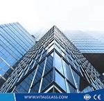 Toughened Safety Low-E Coated Glass for Window Glass (L-E)
