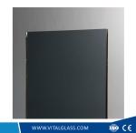Dark Grey Laminated Glass