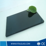 DARK GREY FLOAT GLASS( D-G)