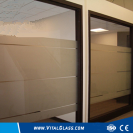 Clear Decorative Louver Glass