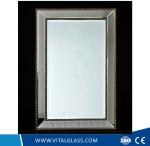Silver Drop Decorative Spell Mirror