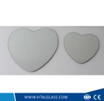 Big and Small Size Heart-Shaped Decorative Spell Mirror