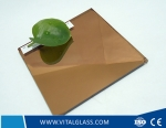 Bronze/Golden Bronze Silver Mirror for Bathroom Mirror Glass with CE&ISO9001