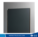 Dark Grey Laminated Glass