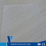 Solar control low iron glass