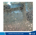 10mm Flat/Float Toughened/Safety Glass for Refrigerator Door with Csi