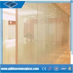 China wholesale flat 6.38mm-12.76mm laminated tempered glass for canopy/building