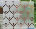 4/4.8/5 mm Titanium Glass, frosted titanium glass, acid glass