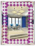 decorative mirror, bathroom mirror