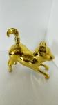 2018 gilt dog glass golden bottle Dogs